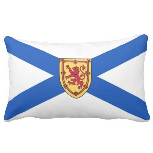 Provincial Flag Of Nova Scotia (Canada) Pillows