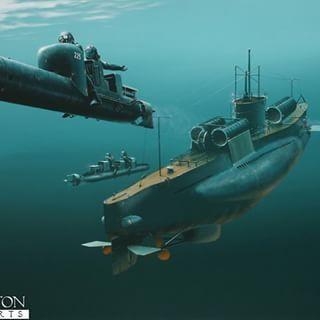 Italian Combat Divers Decima Mas WW2 and mini submarine.