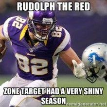 Kyle Rudolph Fantasy Football Meme 2013 Tight Ends