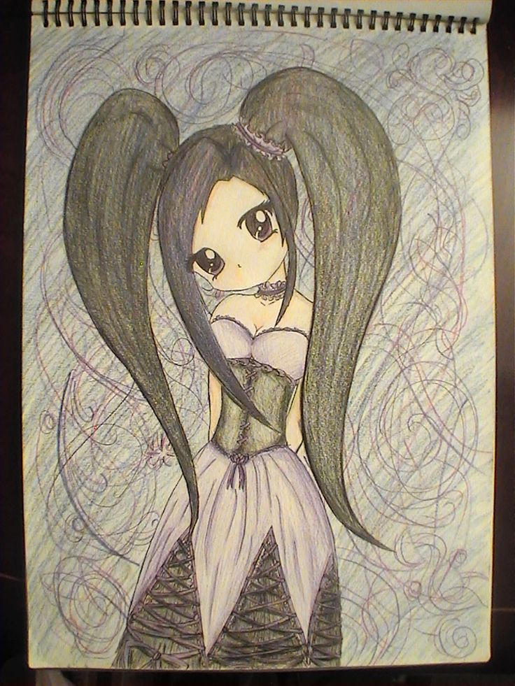 17 best ideas about gothic anime on pinterest manga - Dark anime couples ...