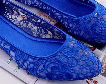 3 Colors Handmade Lace Wedding Shoes Bridal Lace Shoes Bridesmaid Shoes  Transparent Sandals Ballet Flat Heel