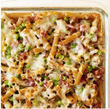 """My version of Weight Watcher's Baked Ziti with Turkey Sausage""""! Loved this, but wanted more sausage, less pasta! Here's my take on it - it's awesome!"""