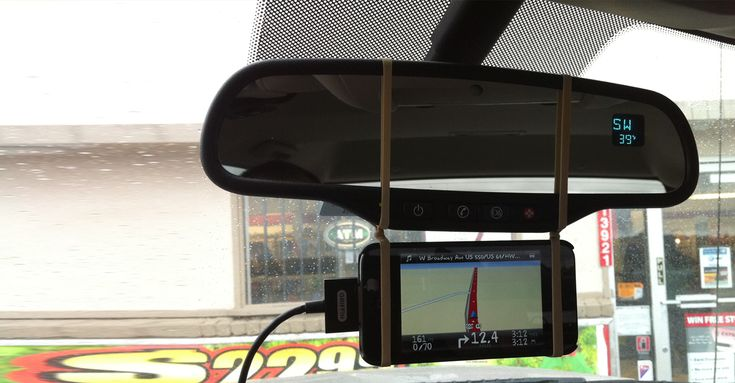 portable and quick phone/navigation holder