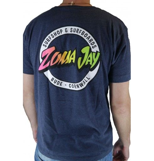 Zuma Jay Badge T-Shirt Navy