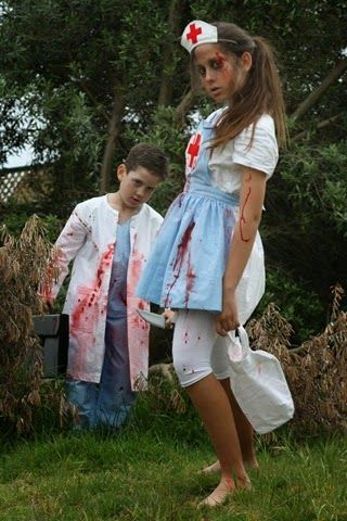 Sew It Sherry: Evil Doctor and Nurse - Halloween 2014