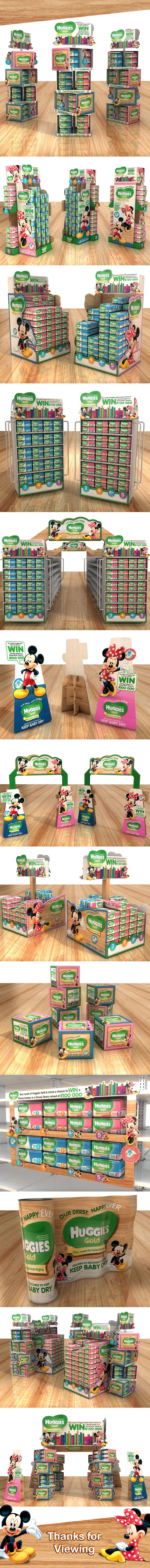 Huggies Gold Campaign on Behance