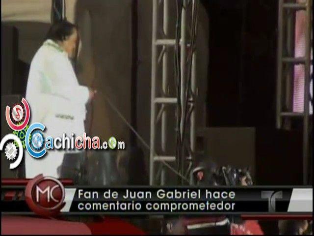 Fan de Juan Gabriel Hace Comentario Comprometedor En Pleno Concierto #video | Cachicha.com
