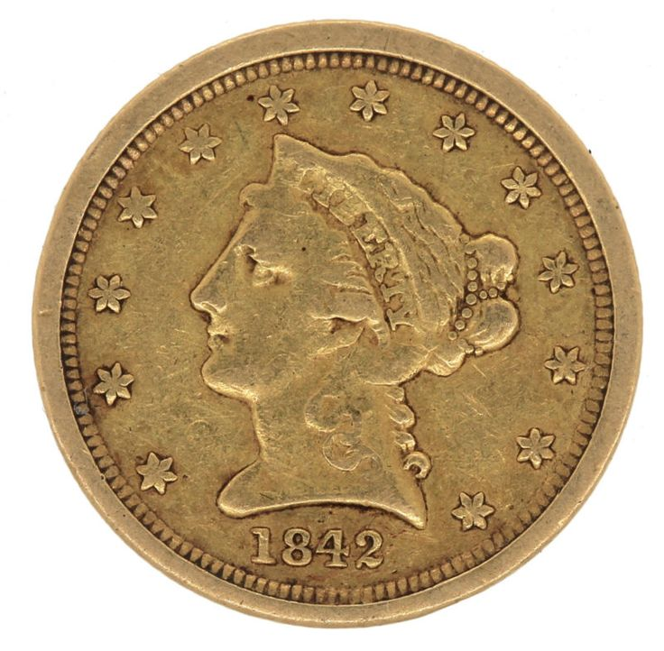 Collectors Coins & Estate Jewelry ITEM DESCRIPTION 1842-o Liberty Head $2.5 Dollar Quarter Eagle Gold Coin **you grade** Return Policy We stand behind... #gold #coin #grade #eagle #quarter #head #dollar #liberty