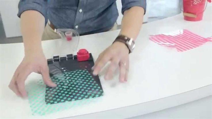 { DO ART } Placa de Vincar Moinho de Vento (Pinwheel Punch Board) We R M...