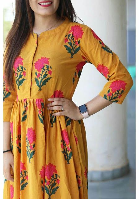 Floral yellow maxi dress