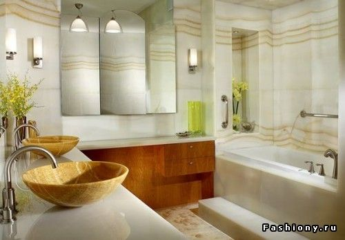 Прекрасные ванные комнаты / шикарные ванные комнаты