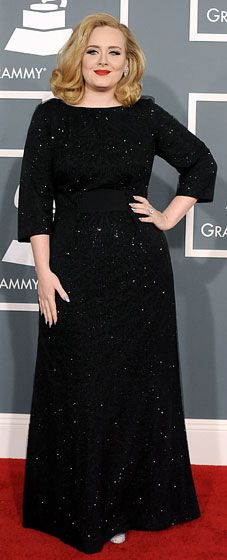 She's lost SO much weight!! Looks amazing! Love my Adele!