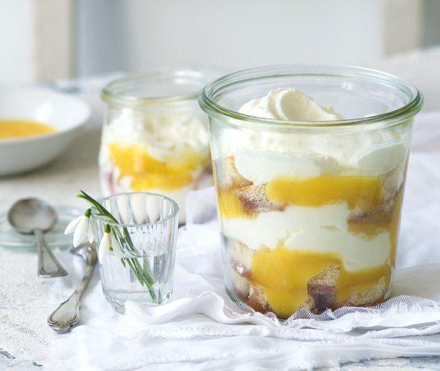 Citronový trifle