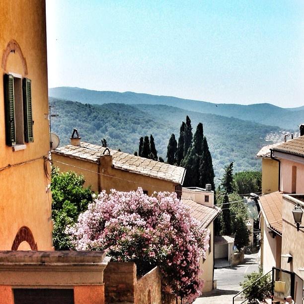 Un vicolo di Castagneto Carducci, Livorno #tuscanygram