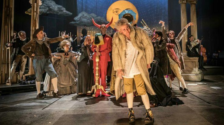 Adam Gillen - Amadeus in Mozart - photo by Marc Brenner - National Theatre  (?)
