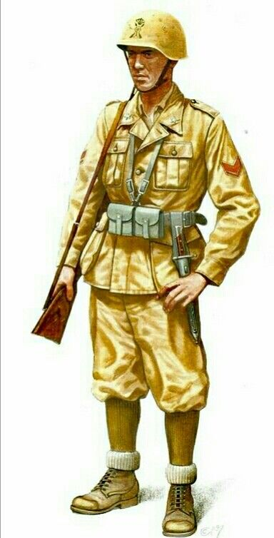 North Africa WWII: Regio Esercito, Infantry Corporal - pin by Paolo Marzioli