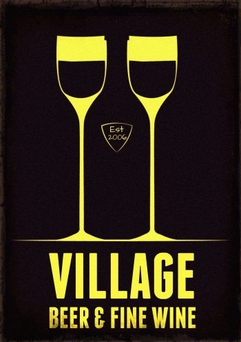 Great Logo Design � 451 at Www.designcontest.com https://www.designcontest.com/logo-design/village-beer-and-fine-wine_1