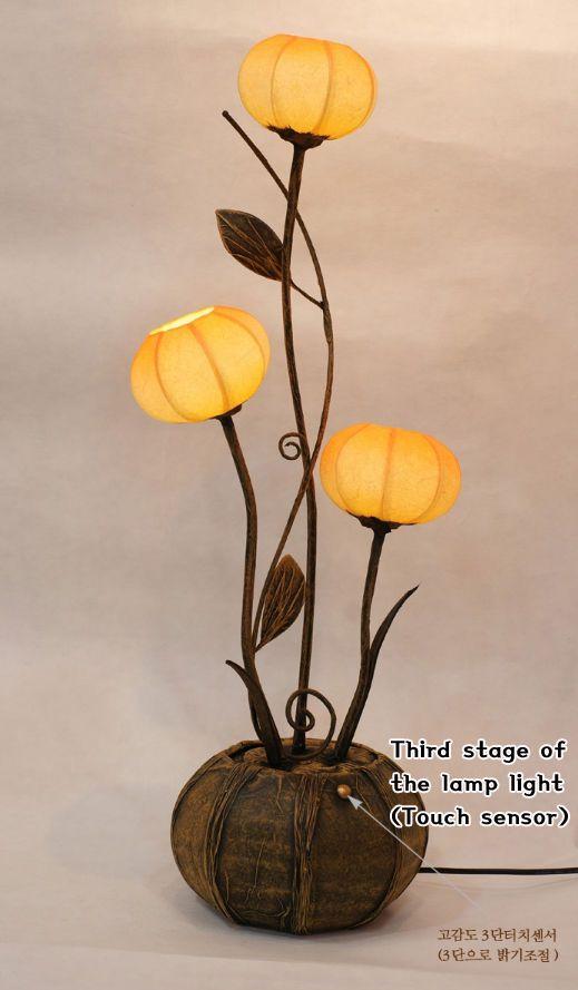 #Korea #Antique #LivingRoom #Interior #Design #Decor #PaperLantern #Stand #Lamp #Anemone #DURICRAFT