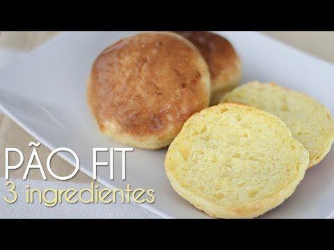 Pão Fit – 3 Ingredientes   Pam*B