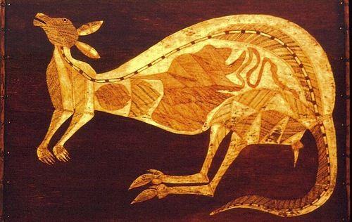 X-Ray Style Aboriginal Art (Bark Paintings), Yolngu.