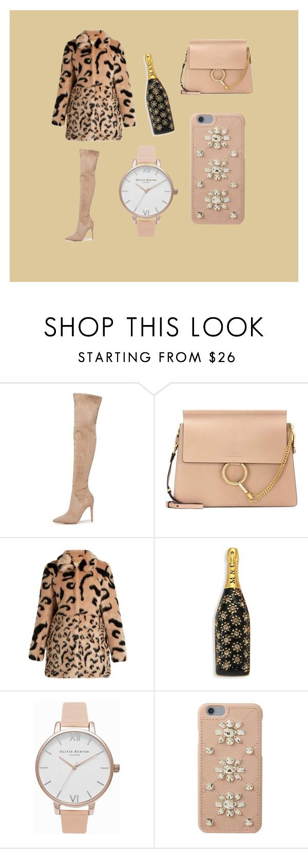 """""""beeyotch"""" by kelsiecloe on Polyvore featuring Kendall + Kylie, Chloé, Marc Jacobs, Olivia Burton and MICHAEL Michael Kors"""