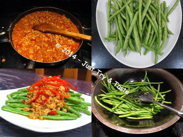 Just Try & Taste: Buncis a la Szechuan