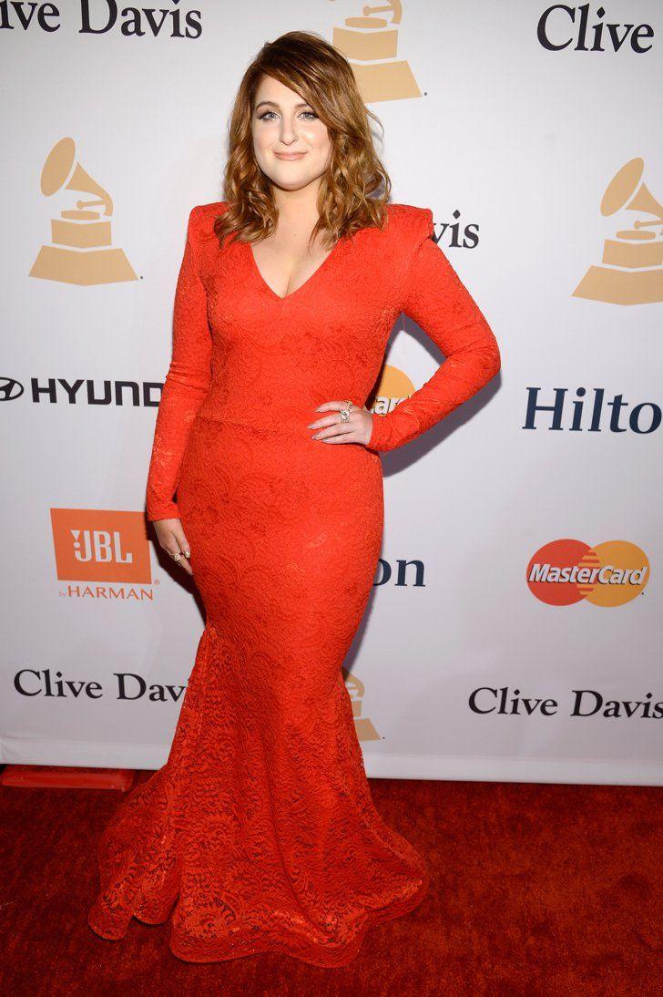 Pin for Later: Les Stars de la Musique S'éclatent à L'approche des Grammy Awards Meghan Trainor