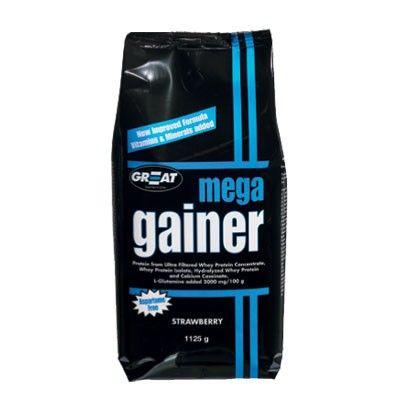 Mega Gainer är en sportprodukt framtagen för energikrävande sporter eller där viktökning är önskvärd. Den passar den aktiva idrottaren som förbränner mycket energi genom sin träning. Mega Gainer innehåller en noga utvald sammansättning av kolhydrater, proteiner, vitaminer och mineraler och tjänar främst som bränsle för musklerna.