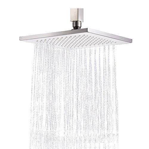 Rozin Bathroom Replacement Top Rainfall Shower Head Square 8 Inch