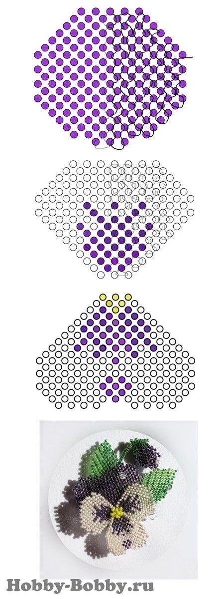 мозаичное плетение из бисера схемы: 21 тыс изображений найдено в Яндекс.Картинках
