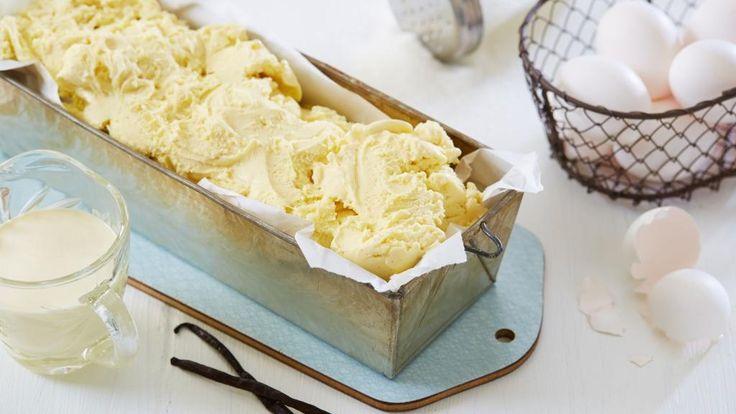 Oppskrift på hjemmelaget vaniljeis