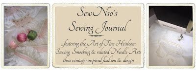 SewNso's Sewing Journal