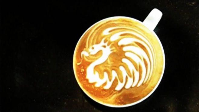 İnanılmaz Latte Sanatı - Kahveden bardakta yapılan şaşırtıcı resimleri