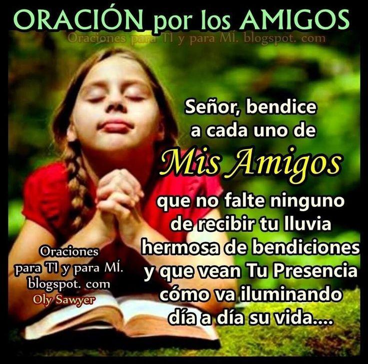 Oración por los Amigos.