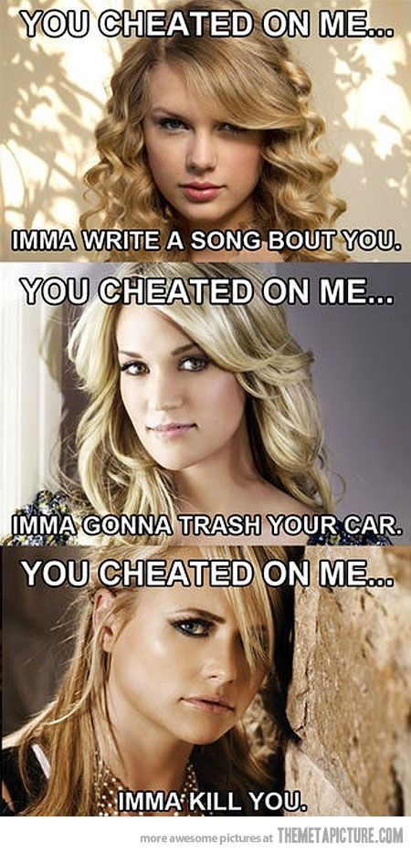 Country music payback…