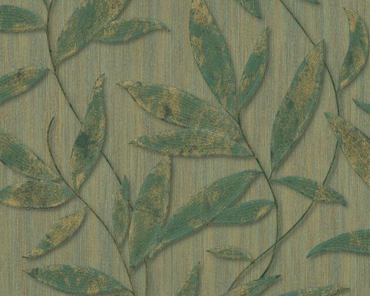 13 besten Tapete WoZi Bilder auf Pinterest Bitte, Englisch und - wohnzimmer tapete grun