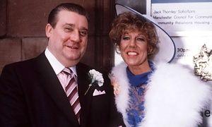 Alf weds Audrey Roberts, Coronation Street 1985