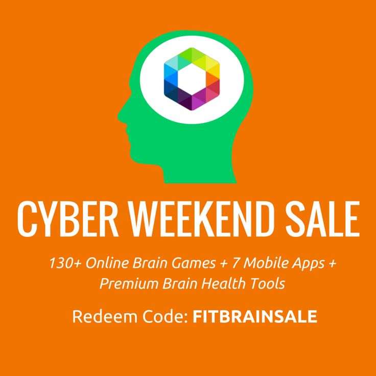 [ Fit Brains Cyber Weekend #Sale ] Save 40% on a Lifetime Unlimited Brain Training Membership or Save 25% on an Annual Unlimited Brain Training Membership. Redeem Code: FITBRAINSALE http://taps.io/FITBRAINSALE #blackfriday #cybermonday