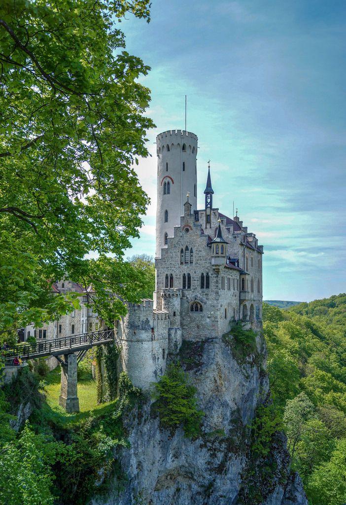 All Things Europe Schloss Liechtenstein Germany By Stephan Beautiful Buildings Scenery Medieval Castle