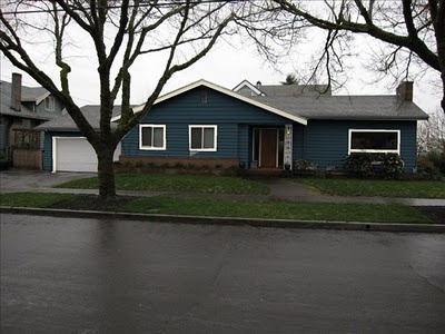 Too Dark Of A Blue What Not To Do Blue Ranch House Google Search Tanya 39 S House Colors
