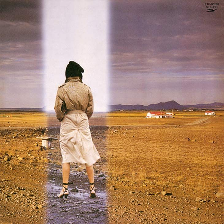 1981年11月にリリースされたユーミンこと松任谷由実12枚目のオリジナルアルバム「昨晩お会いしましょう」。なんだこのへんてこりんなアルバムタイトルは!?とすでにミステリー色満載。そして、ジャケットも何ともミステリアス。。。