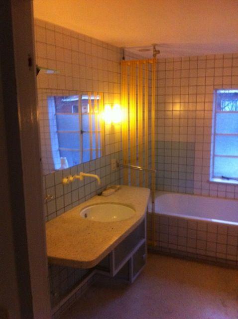 'betonciré' bathroom 'before'