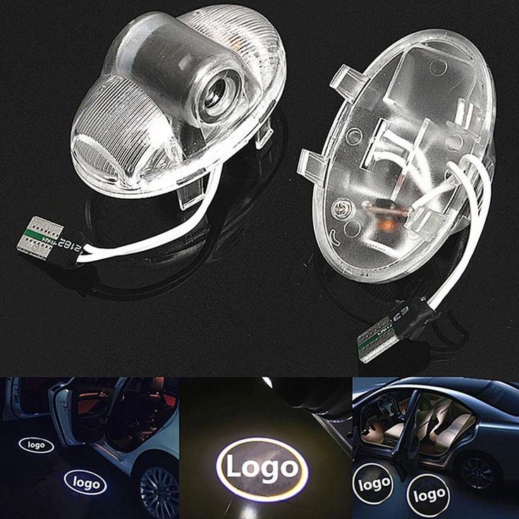 2x Car Led Logo/Emblem Laser Lamp LED Car Door Step Ghost Shadow Welcome Projector Light Lamp For Mazda 6 RX8 A8 RX-8 CX9 CX-9 - $18.99
