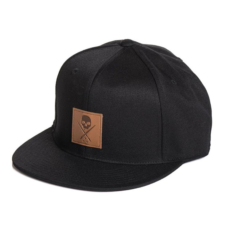 Mens flexfit hat with PU branded Sullen Badge patch on front panel and Sullen lettering along back center. Flex inside band for a adjustable fit and comfortable wear. -Polyester/Wool blended body -Bra
