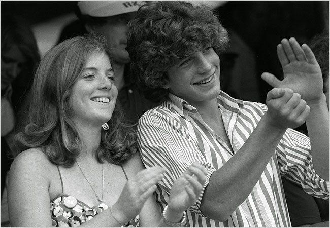 Caroline Kennedy and John F. Kennedy, Jr.