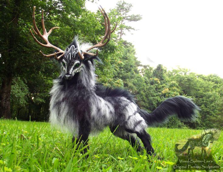Artist Lee Cross creates stunning hand made fantasy creatures - Imgur