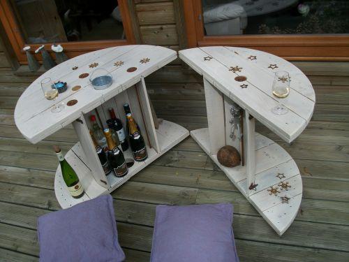 les 49 meilleures images du tableau touret sur pinterest touret bobine de bois et recyclage. Black Bedroom Furniture Sets. Home Design Ideas