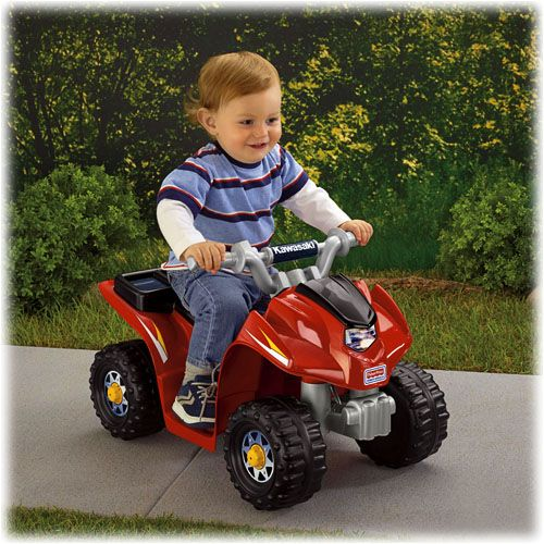 Power Wheels® Kawasaki® Lil' Quad™ - Shop Power Wheels Ride On Cars & Trucks | Fisher-Price