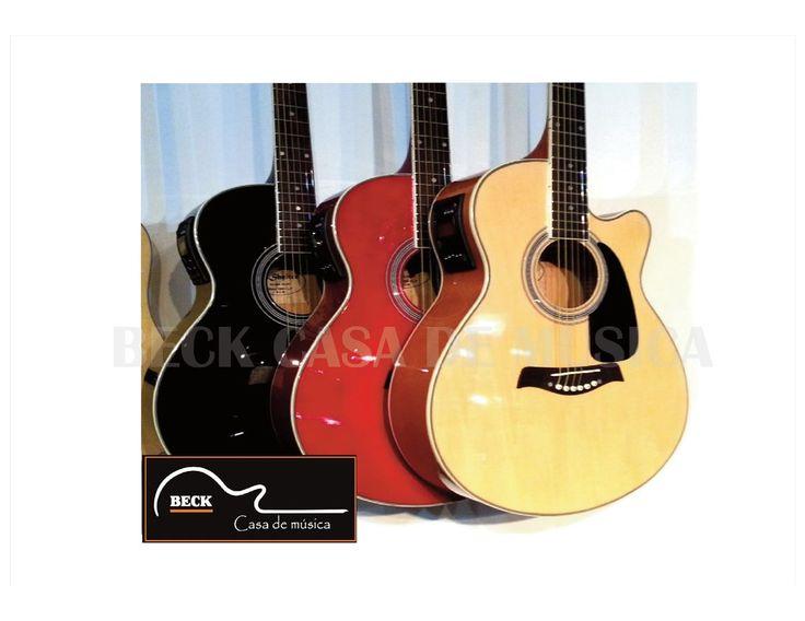 Guitarra Electroacústica Shelter C/eq + Afinador