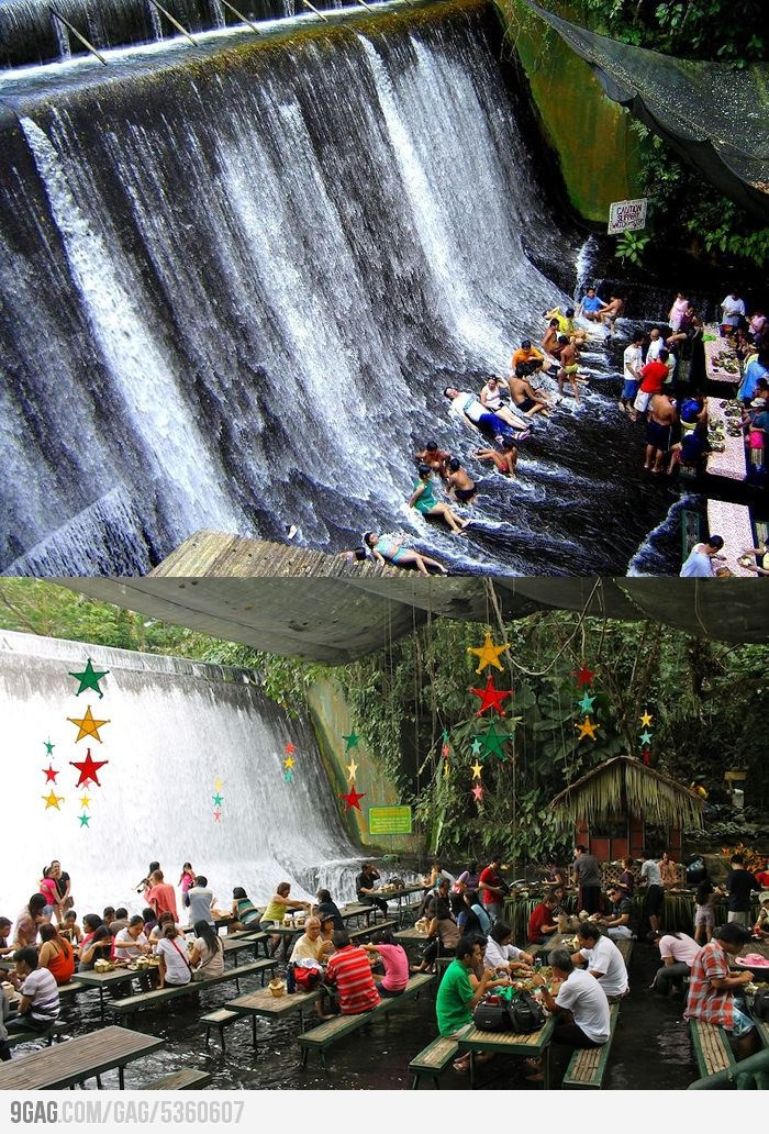 52 best images about scenery waterfall on pinterest for Villa escudero resort with the waterfalls restaurant in philippines